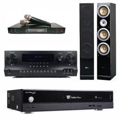 金嗓 CPX-900 A3 智慧點歌伴唱機 4TB+DW 1 擴大機+LM-750 無線麥克風+ QX-900F 主喇叭