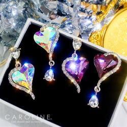 《Caroline》★韓國熱賣造型時尚 絢麗閃亮動人 耳環 70733