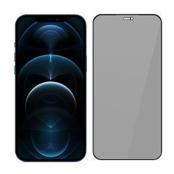SSTAR iPhone 12 Pro Max (6.7吋)2.5D 高透防窺日規鋼化玻璃保護貼 黑色