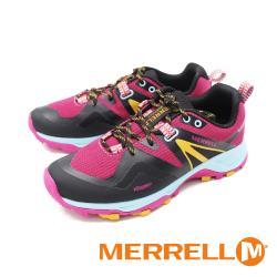 MERRELL(女) MQM FLEX 2 GORE-TEX 郊山健行鞋 女鞋-桃黑