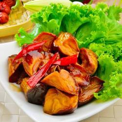 【素食】老林記-三杯杏鮑菇230g±10%