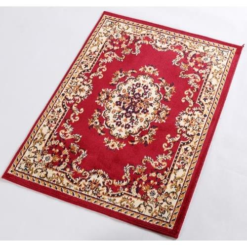 范登伯格-紅寶石歐式新古典風格比利時進口絲質地毯/地墊_50x70cm 紅璽