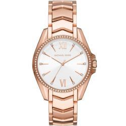 Michael Kors 經典玫瑰金色時尚腕錶(MK6694)41mm
