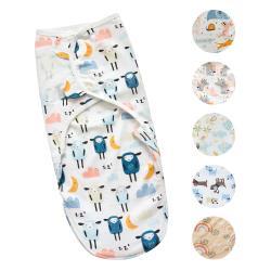 嬰兒包巾 懶人包巾 拉鍊升級款-可調式簡易包巾