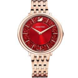 SWAROVSKI 施華洛世奇 CRISTALLINE CHIC 純淨之美時尚腕錶(5547608)