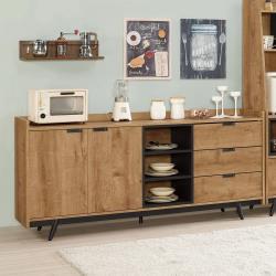 H&D 摩德納6尺餐櫃
