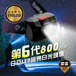 [JP嚴選] 第六代 日亞LED 超亮白光頭燈