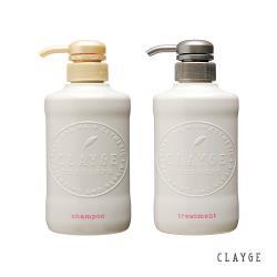 【CLAYGE】海泥 D系列蓬鬆柔順 500ml X2  (洗髮精/潤髮精)
