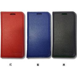 Apple  iPhone 12 / iPhone 12 Pro ( 6.1吋 )  新時尚 - ( 真皮 ) 隱藏磁扣 - 側翻皮套