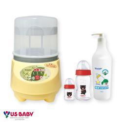 優生 負離子奶瓶烘乾消毒鍋(贈-奶瓶2支+清潔劑500ml)