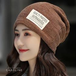 《Caroline》★ 帽子秋冬新款時尚套頭月子帽 浪漫型女 包頭帽子71501