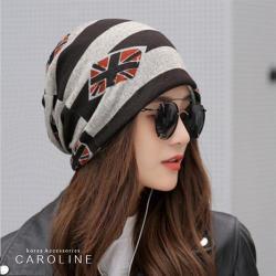 《Caroline》★ 帽子秋冬新款時尚套頭月子帽 甜美.自然.氣質包頭帽子71500
