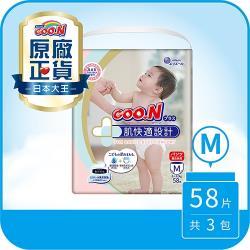 大王GOO.N紙尿布 境內版肌快適-褲型M(58片X3串)