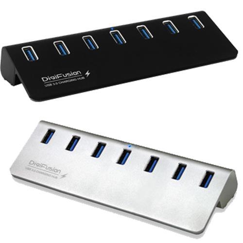 伽利略 USB3.0 7埠 充電 HUB 鋁合金(U3H07B)