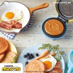 recolte 日本麗克特 Mini 迷你鬆餅機 小小兵限定版