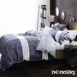BEDDING-活性印染四件式全鋪棉兩用被床包組-初戀(雙人)