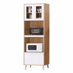 Boden-伊甸2尺北歐風收納高餐櫃/碗盤置物櫃/電器櫃