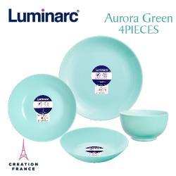 【Luminarc 樂美雅】蒂芬妮藍4件式餐具組(ARC-401-LG)