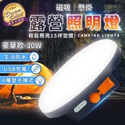 捕夢網-露營照明燈-豪華款 贈磁鐵吸片 USB充電