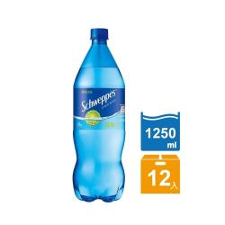 舒味思 氣泡水萊姆口味1250ml(12入/箱)
