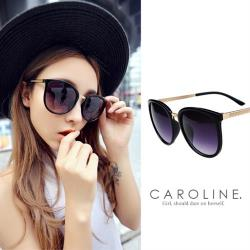 《Caroline》/新雙色上市/年度最新.流行時尚潮人百搭明星抗UV太陽眼鏡 67500