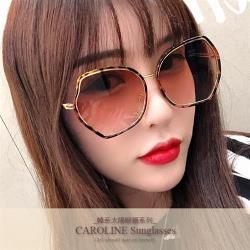 《Caroline》年度最新網紅款潮流百搭抗UV時尚太陽眼鏡 71928