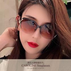 《Caroline》年度最新網紅款潮流百搭抗UV時尚太陽眼鏡 72127