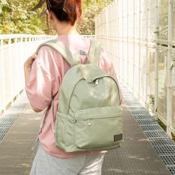 J II 後背包-經典水洗大容量後背包-豆綠色-6388-22(小款)