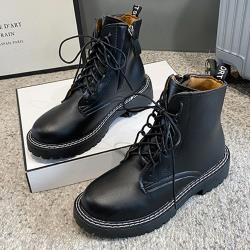 【Alice】 (預購)時尚穿搭造型中筒靴