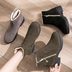 【Alice】 (預購)韓國氣質毛毛靴
