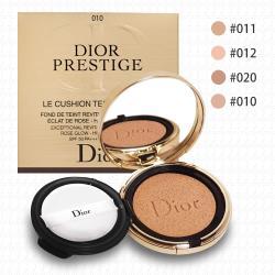 Dior迪奧 精萃再生花蜜氣墊粉餅14g(含粉盒)