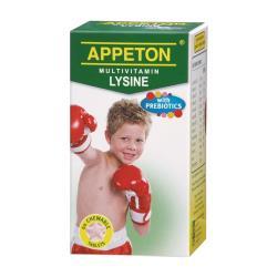 APPETON 愛必頓 兒童賴氨酸益生質複合維生素咀嚼錠(60顆)