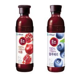 韓國清淨園口味選:(石榴/藍莓醋)(500ml*2罐/組)