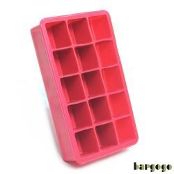 Bargogo 15格方塊矽膠製冰盒-兩入組(可當副食品分裝盒)