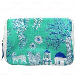 CLARINS 克蘭詩 希臘花園迷情化妝包(藍)