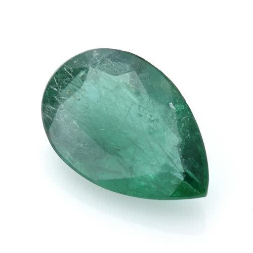 金工坊天然水滴型4.6克拉祖母綠裸石/