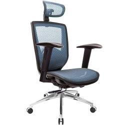 GXG 高背全網 電腦椅 (鋁腳/2D升降手) TW-81Z6 LUA2