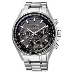 CITIZEN星辰 CC4000-59E 光動能GPS衛星對時鈦金屬時尚男錶
