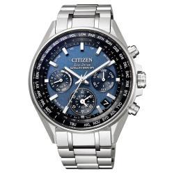 CITIZEN星辰CC4000-59L光動能GPS衛星對時鈦金屬時尚男錶