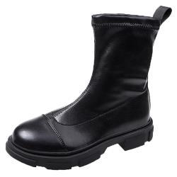 【Alice】 (預購)時尚穿搭中短筒靴