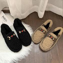 【Alice】 (預購)小香風毛毛鞋