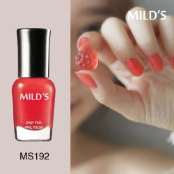 《MILDS曼思》水性可剝指甲油─甜橘果凍MS192