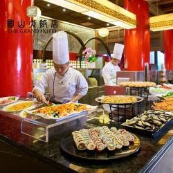 (限期券)台北【圓山大飯店】松鶴餐廳-平日自助午晚餐單人券20ITF