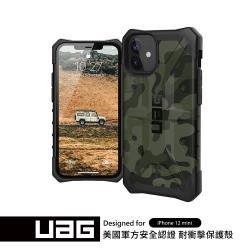 UAG iPhone 12 mini 耐衝擊迷彩保護殼-綠