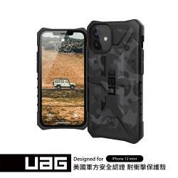 UAG iPhone 12 mini 耐衝擊迷彩保護殼-黑