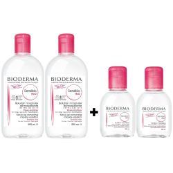 BIODERMA 高效舒敏潔膚液4件組(500mlx2+100mlx2)