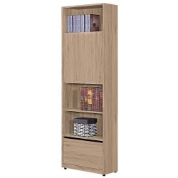 H&D 祖克柏2尺一抽一門書櫃