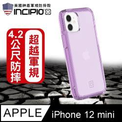 美國 Incipio iPhone 12 mini 超輕鎧甲透紫保護殼