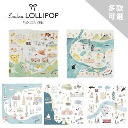 Loulou lollipop 加拿大 竹纖維透氣包巾 (城市款) 120x120cm  - 多款任選