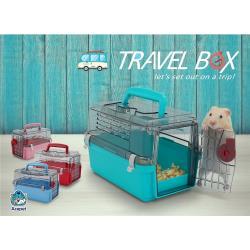 ACEPET 愛思沛 TRAVEL BOX 小動物旅行提籠 倉鼠外出籠 黃金鼠外出籠 倉鼠/小動物外出提籠